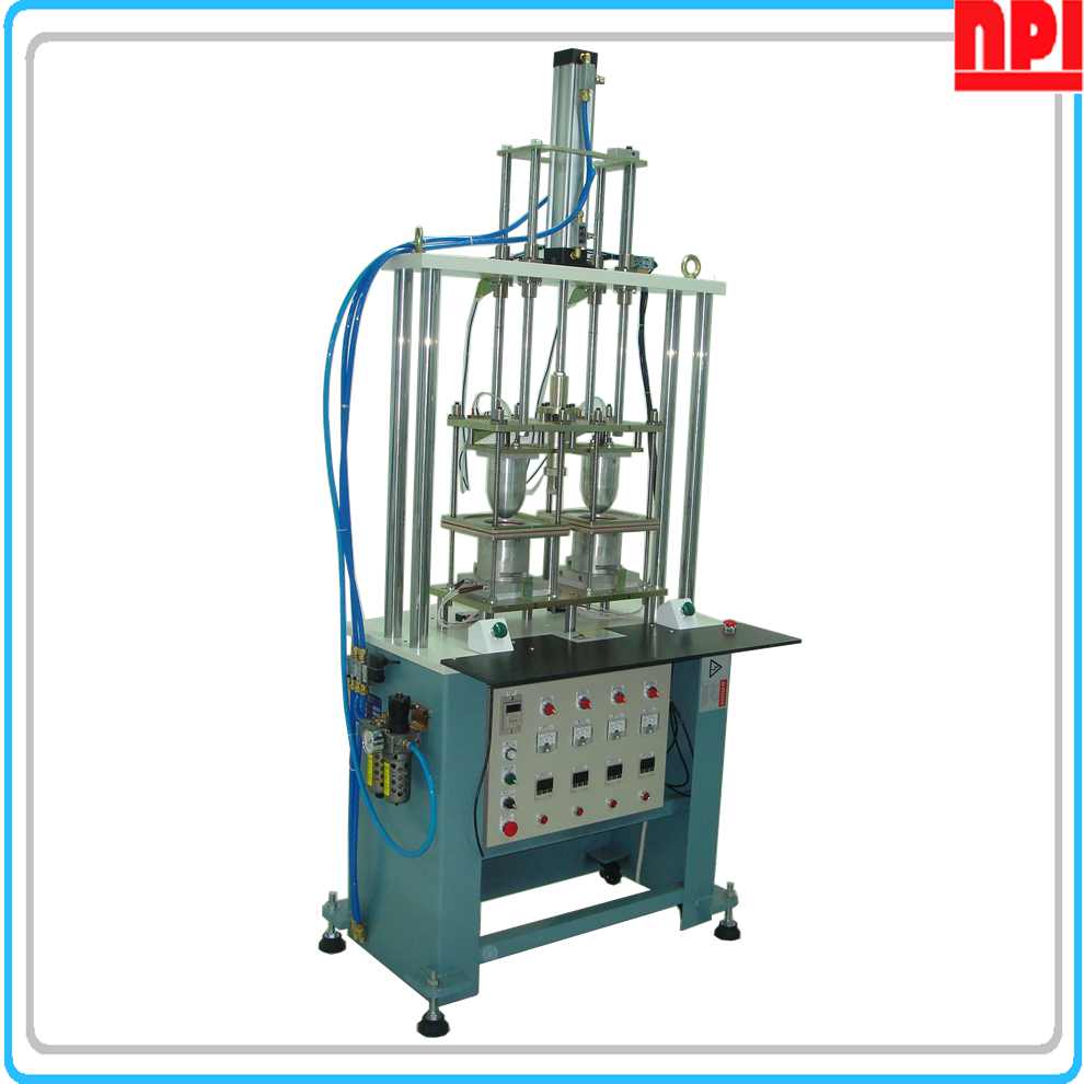 Elastic fabric cup bubble molding machine