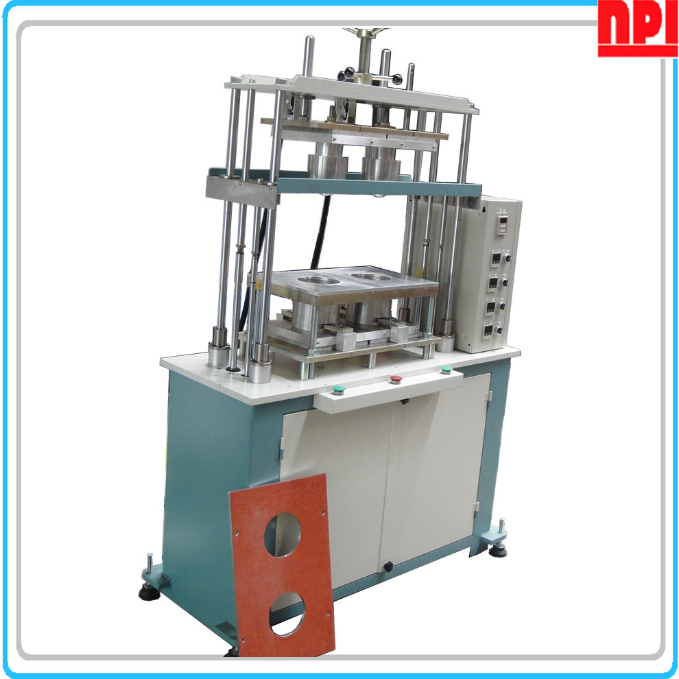 Fabric cup molding machine